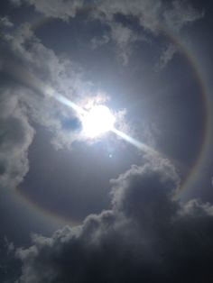 Look! Up in the sky! A ring around the sun