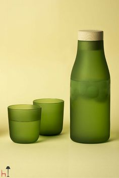 Gela by Internoitaliano is a jug made from blown glass.