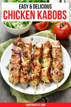 We're sharing a few pro tips for creating tasty chicken kabobs at home. It's easy and fun to mix and match meat, veggies and spices on your skewers to make them uniquely your own. Whether you have a grill or not you can make delicious and juicy chicken kabobs at home. #ChickenKabobs #VegetableKabobs #Kabobs