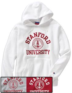 Product: Stanford University Hooded Sweatshirt