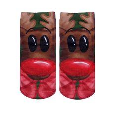 """LIVING ROYAL """"Rudolph"""" Ankle Socks"""