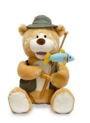 Gone Fishin' Flynn Singing Animated Bear