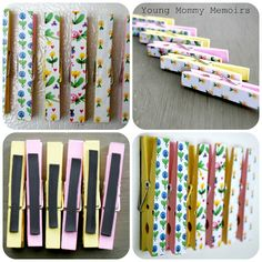 Let It Shine: DIY Clothes Pin Magnets
