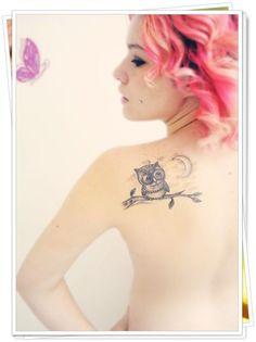 owl tattoo 35