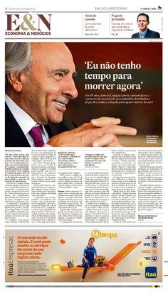 Título: Eu não tenho tempo para morrer agora. Veículo: O Estado de S. Paulo. Data: 25/11/2013. Cliente: Copagaz.