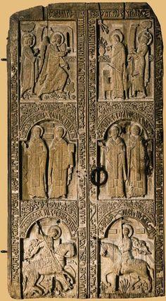 Doors of the paraclis of the Snagov Monastery - Romania Donated by Vladislav II