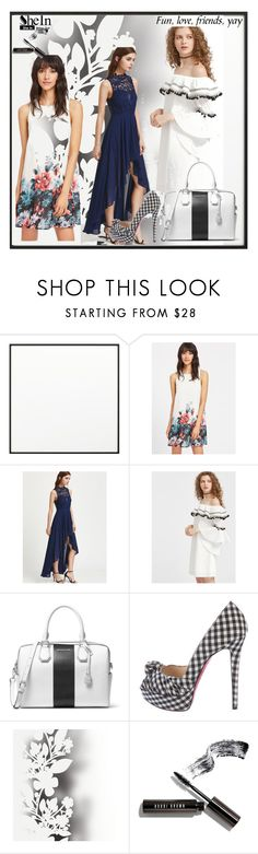 """Bez naslova #167"" by ajisa-ikanovic ❤ liked on Polyvore featuring By Lassen, MICHAEL Michael Kors, Christian Louboutin, Élitis and Bobbi Brown Cosmetics"