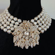 Stanley Hagler N.Y.C. Vintage Costume Jewelry, Vintage Costumes, Vintage Jewelry, Jewelry Art, Beaded Jewelry, Beautiful Costumes, Vintage Photography, Timeless Design, Miriam Haskell