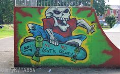 Urban Art a la cARTe: Street Art by Nami (8) - 'No Guts, No Glory' Art Uk, Gloucester, Urban Art, Street Art, Cards, City Art
