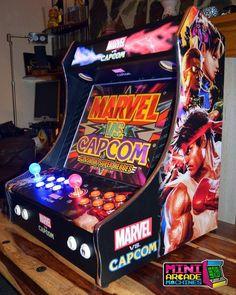 Custom 'Marvel vs Capcom' Bartop Arcade Machine