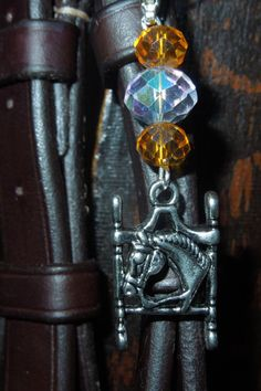 Bridle charm with beads. by MHAFARMS on Etsy