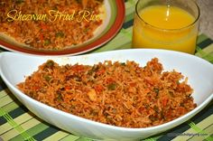 Schezwan fried rice is a very spicy fried rice and taste awesome. I love this indo-chinese schezwan fried rice anytime. Its restaurant style schezwan fried rice.