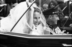 The bride; wedding of Crown Prince Harald of Norway and ms Sonja Haraldsen on August 29, 1968