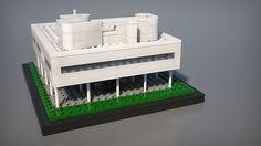 Villa Savoye - LEGO Architecture