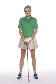 Women's #Golf Polo and Pleated #Skort by Kevan Hall Sport