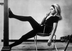 Brigitte Bardot. Taking a break. A Very Private Affair.