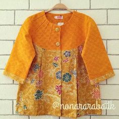 Blouse Batik, Batik Dress, Kimono, Blouse Dress, Frock Fashion, Batik Fashion, African Wear, African Fashion, Kids Dressy Clothes