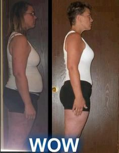 """Anna says """"This is my 16 week side pic! I have to say ordering Skinny Fiber is the best thing to happen to me! I have lost 27.5lbs and 35.25"""" overall!""""  Start your own transformation here: www.getskinnywithsue.com"""