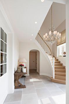 Rural villa in Alken Modern Stairs Alken . Ideal Home, House Stairs, House Design, House, House Styles, House Inspiration, House Interior, Home Deco, Stairs Design