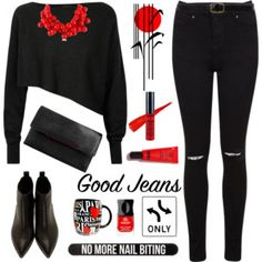 Rock It!High-Waisted Skinny Jeans