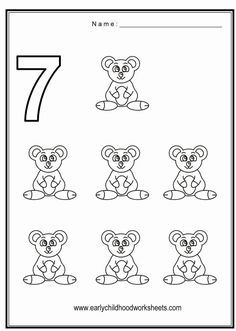 Math Coloring Pages For Kids. Gallery of math coloring pages for kids. Your children would have fun coloring these image, while learning Math. Number 7 Worksheets For Preschoolers. Whale Coloring Pages, Farm Animal Coloring Pages, Dog Coloring Page, Printable Adult Coloring Pages, Coloring Pages For Girls, Coloring Sheets, Numbers Preschool, Preschool Worksheets, Number Worksheets