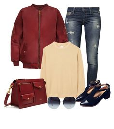 """""""Untitled #1352"""" by gallant81 ❤ liked on Polyvore featuring GUESS, WearAll, Gant Rugger and Mulberry"""