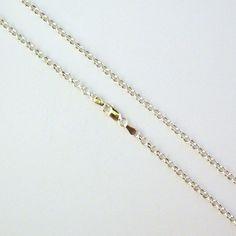 Cadena de plata de 70 cm de largo