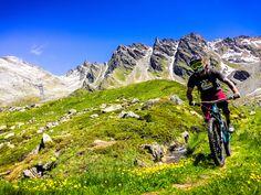 Armin Wurmser in Verbier, Switzerland - photo by teeneegee - Pinkbike Moutain Bike, Mountain Biking, Mtb, Go Ride, Bike Trails, Armin, Bike Life, Switzerland, Cool Photos