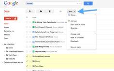 Organizing Your Google Docs