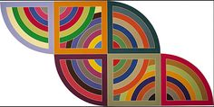 Holly's Arts and Crafts Corner: 2012: Project 6--Frank Stella-Inspired Cardboard S...