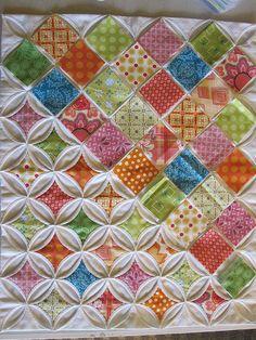 cathedral windows tutorial via kerri horsley   Quilting ... : cathedral window quilt tutorial - Adamdwight.com