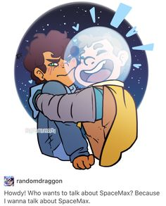 MAX AND SPACE KID YAS/// I don't ship it because they are children but there is very little camp camp art sooo