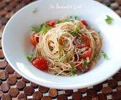 Ina's Summer Garden Pasta