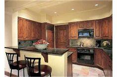 beautiful kitchen, love the wood