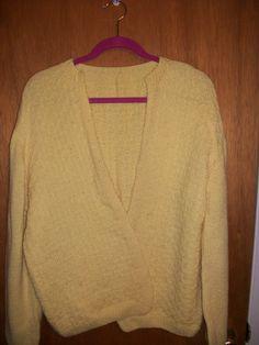 Long sleeve Yellow Sweater in GrandmasClutter's Garage Sale in Colorado Springs , CO for $6.00.