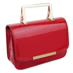 GET $50 NOW | Join RoseGal: Get YOUR $50 NOW!http://www.rosegal.com/tote/chic-metal-and-patent-leather-815634.html?seid=5909080rg815634