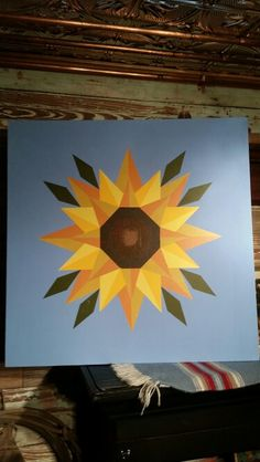 Sunflower Barn quilt