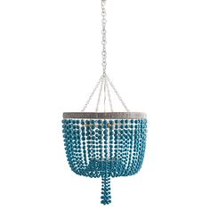 Arteriors Viola Turquoise Chandelier, available at #polkadotpeacock. #peacocklove #arteriors