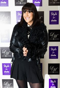 Anna Richardson Photos - Anna Richardson attends the launch party of Style for Stroke by Nick Ede at No 5 Cavendish Square on October 2012 in London, England. - Style For Stroke By Nick Ede - Launch Party Anna Richardson, Susanna Reid, October 2, Tv Presenters, Launch Party, Nylon Stockings, London England, Product Launch, Leather Jacket