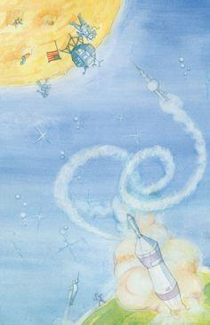 Apollo 11 Allunaggio • Calendario 2012 - Watercolor