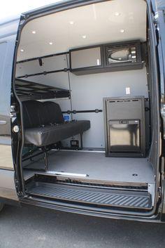 Sprinter Van Sleeper Conversions Hanvey Sprinter