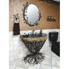 "Quiescence Aspen 36"" Single Forest Bathroom Vanity Set"