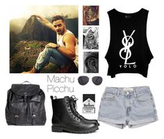 """""""Machu Picchu With Liam Payne"""" by boiteasecrets ❤ liked on Polyvore featuring мода, Levi's, Pieces, H&M и MANGO"""