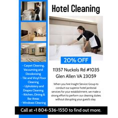 Professional Cleaning Company Proficient in Commercial Cleaning Services Call Monday to Friday to Saturdays to Cleaning Service Flyer, Commercial Cleaning Company, Hotel Cleaning, Cleaning Companies, Superior Hotel, Medical Dental, Best Commercials, Janitorial, Professional Cleaning