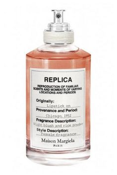 Best Fall Perfume Fragrance Launches 2015 Maison Margiela Paris Replica Lipstick On, $125, available October 1 at Barneys New York.
