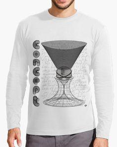 """Camiseta FLIP """"CONCEPTO"""": geometría, matemáticas, simetría, 3D, proyectos, arquitectura, etc. Antiguos conocimientos crean este conjunto de figuras básicas y universales utilizadas en ciencia y arte - FLIP Tshirt """"CONCEPT"""": geometry, mathematics, symmetry, 3D, projects, architecture, etc. Ancient knowledge creates this set of basic and universal figures used in science and art. #geometry #maths #3D #figures #architecture #vintage #Tshirts #camisetas"""