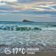 Benidorm .Always enjoying the nice weather! Even in February