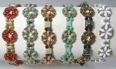 Free Little Ditties Bracelet Pattern by Deborah Roberti at Sova-Enterprises.com