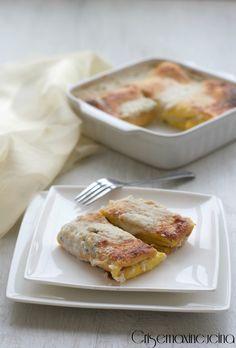 Bauletti al gorgonzola e noci, primo piatto raffinato e saporito!