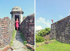 fort san lorenzo panama canal zone ruins | Riding on the Rails of History: The Panama Canal Railway